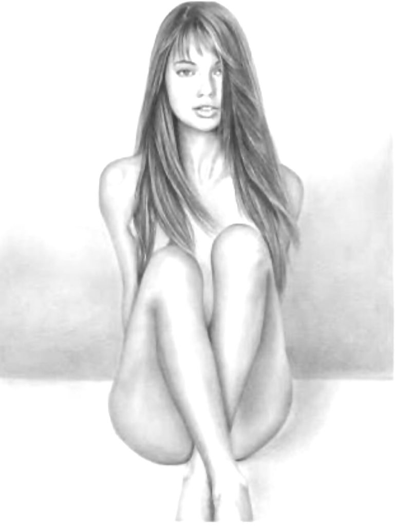 Drawings of girls nude — photo 11
